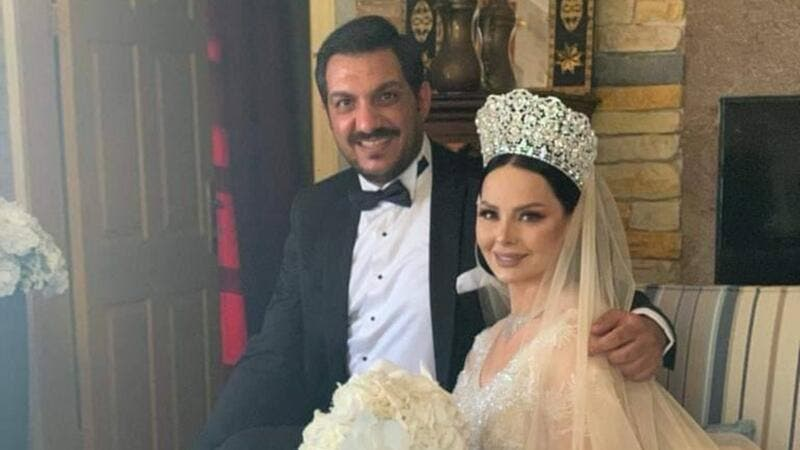Diana Karazon and Moath Omari Throws Simple Yet Intimate Wedding.. See the Pictures