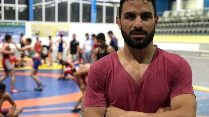 President Trump urges Iran to spare life of popular wrestler