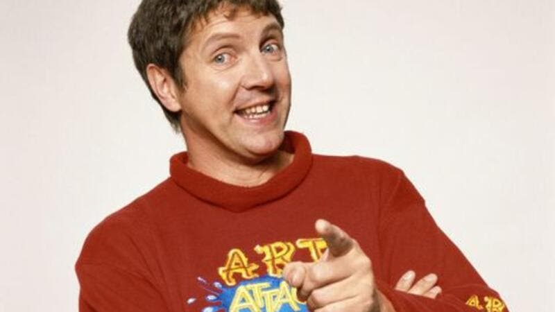 Art Attack's Neil Buchanan denies speculation that he's Banksy