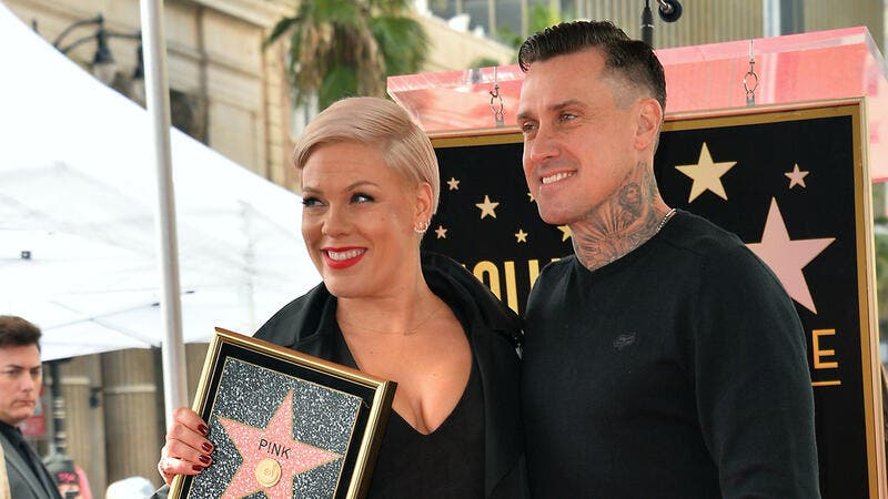 Pink and Hart expressed their gratitude for their marriage and family while celebrating their 14th wedding anniversary in January.