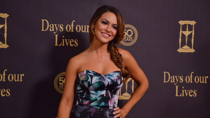 Chrishell Stause attends the Days of Our Lives 50th Anniversary Party. (Shutterstock/ File Photo)