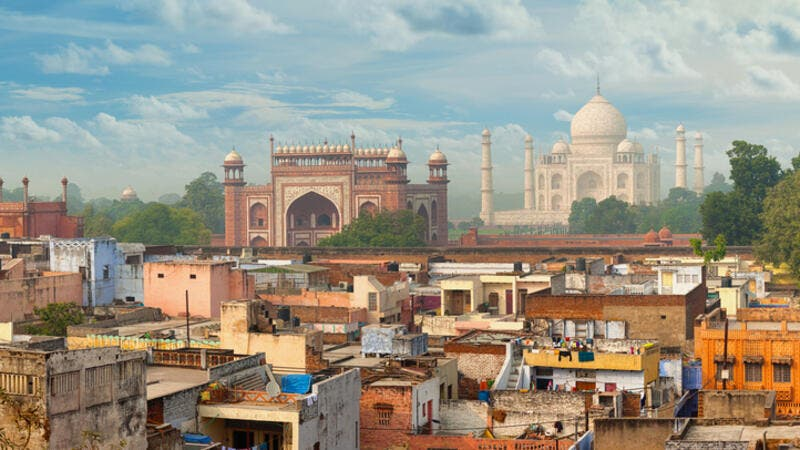 Panorama of Agra city, India  (Shutterstock)