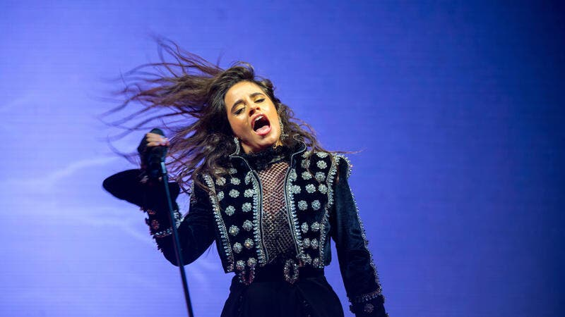 Camila Cabello performs in concert at St. Jordi Club stage on June 26, 2018 in Barcelona, Spain. (Shutterstock)