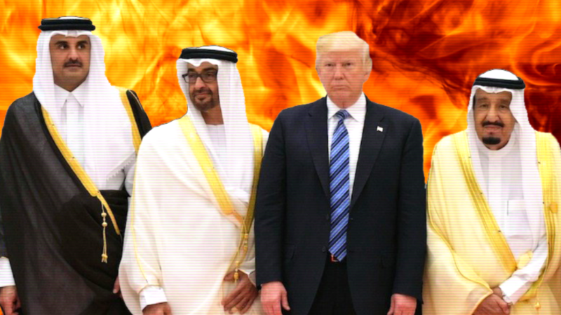 The GCC Crisis Might Have Been Orchestrated by Trump, Here's How