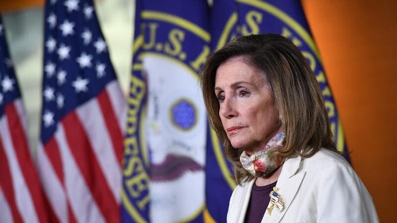 Nancy Pelosi's Home Vandalized With Fake Blood and Pig Head