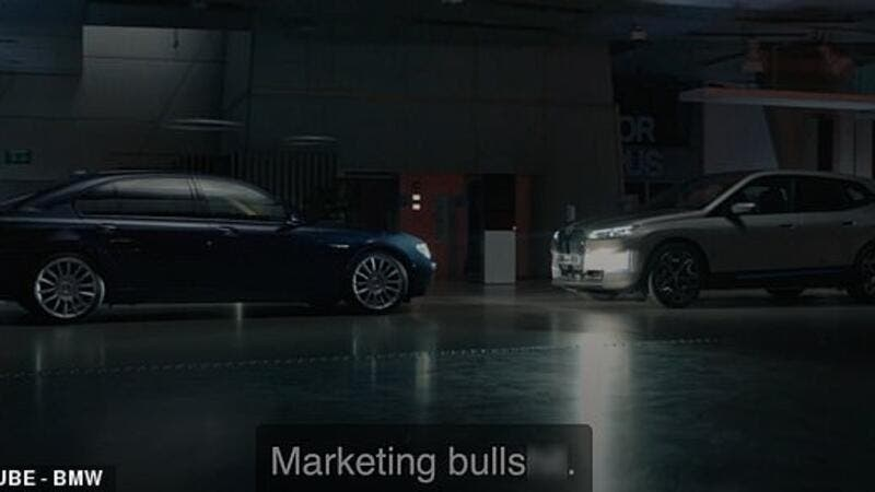 German car giant has faced yet more criticism for its latest video shared online. (YouTube/BMW)