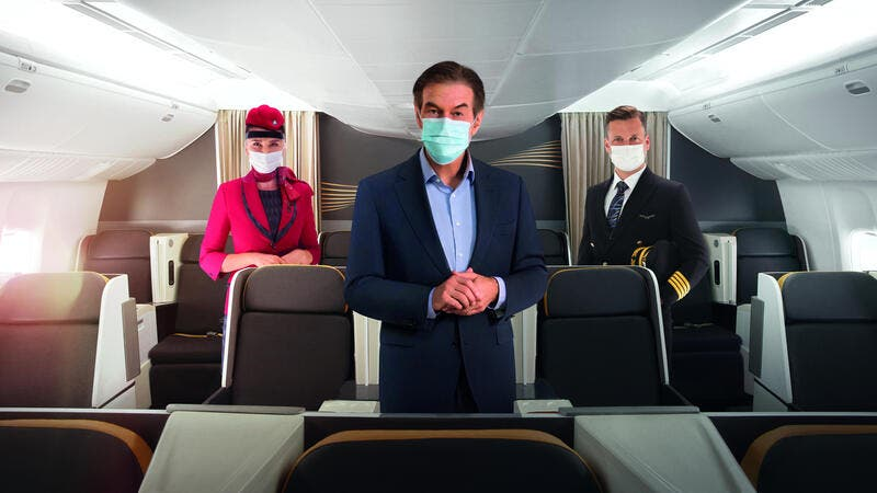 "Turkish Airlines Launches ""TK Extra Care"", a New Hygiene Programme in Collaboration With Dr. Oz."
