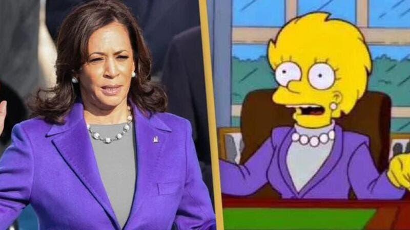 Did The Simpsons predict Kamala Harris as Vice President