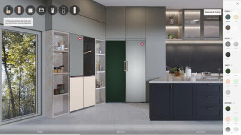 LG Introduces Designer Appliances at CES 2021 | Al Bawaba