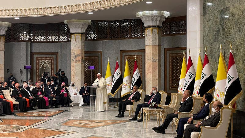 On Historic Iraq Visit, Pope Urges Respect for Nation's Christians