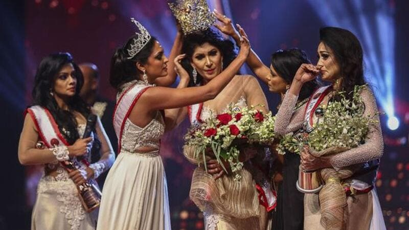 'Mrs Sri Lanka' regains title after on-stage fracas