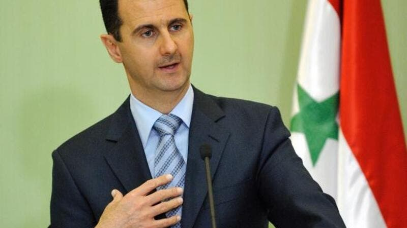 The conference, held in Damascus, was criticised for being pro-regime (AFP/File)
