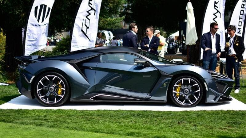 New hypercar by W Motors stuns motoring enthusiasts at series of showcases.
