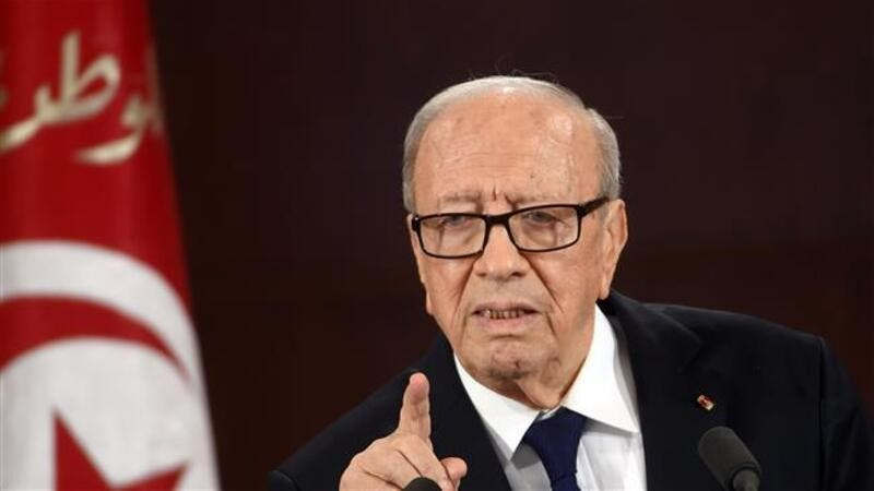 President Beji Caid Essebsi called for the government to scrap the ban dating back to 1973. (AFP)