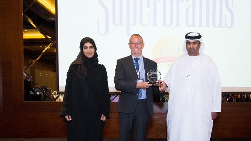 ADNOC Distribution Wins 'UAE Superbrand' Award for the