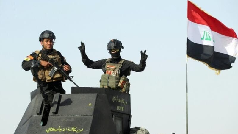 Iraq soldiers reach the boundary of Fallujah, on May 28, 2016, as they take part in a major assault to retake the city from Daesh. (AFP/File)