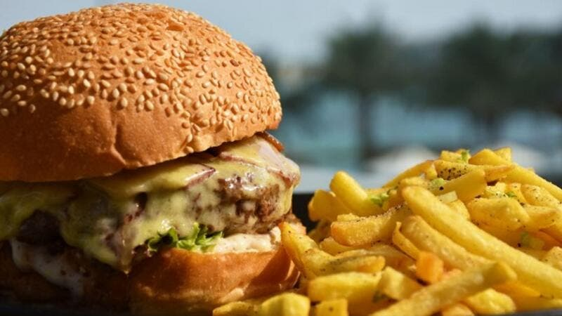 Angus Beef Burger makes the perfect partner to a luxurious day outdoors.