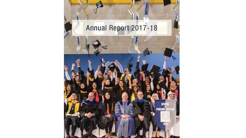 GU-Q Annual Report 2019 Cover