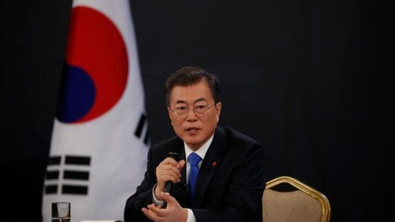 South Korean President Moon Jae-in in the Unites States to discuss joint strategy for dealing with North Korea in light of the fact Pyongyang last week threatened to scrap plans for the summit . (AFP/ File Photo)