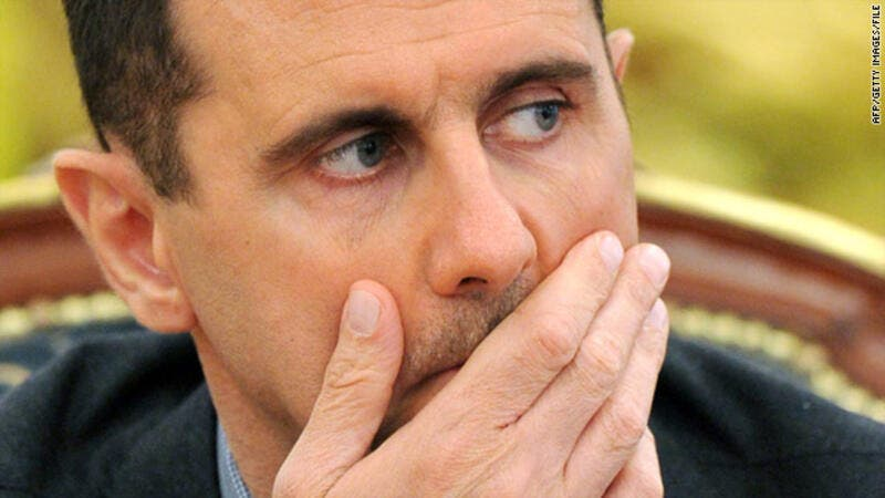 Bashar al-Assad admitted defeat in several provinces across Syria. (AFP/File)