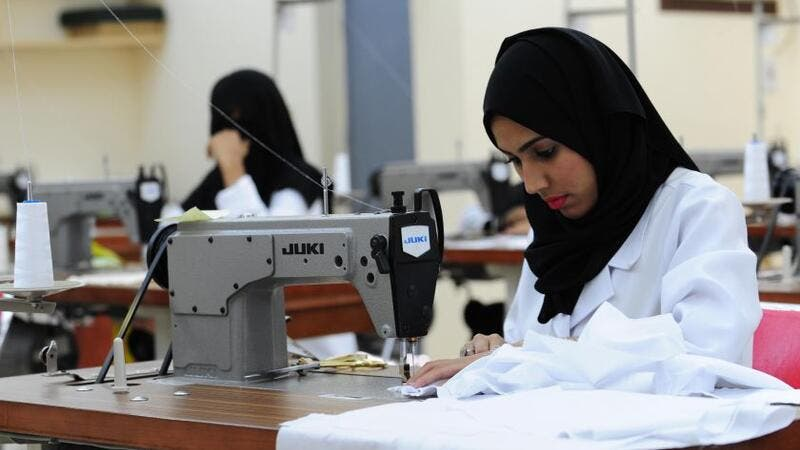 Saudi Arabia wants to boost the percentage of women in the Saudi workforce to 28 percent by 2020. (File photo)