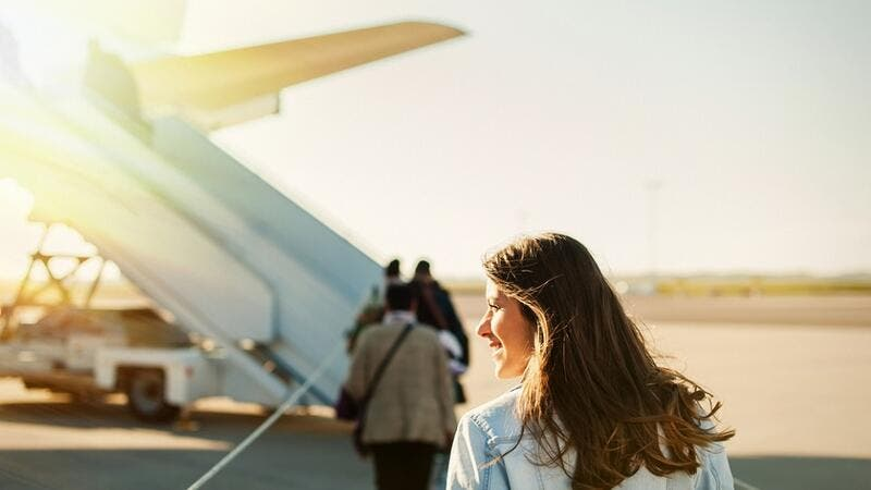 Dubai-based airline Emirates, Apple and WhatsApp are the top ranked brands by women in the UAE. (Shutterstock)