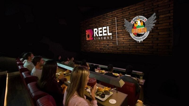 Dine in Cinema by Reel Cinemas.