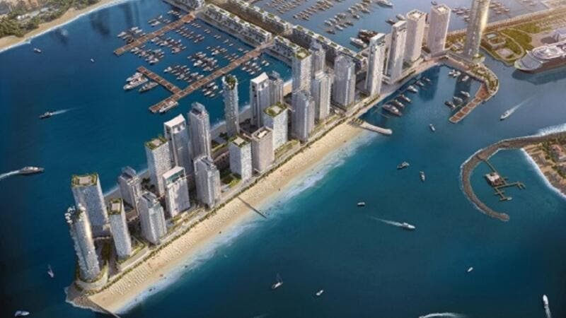 Emaar will develop 10 million square feet of waterfront residences, and a brand-new hotel, at Dubai Harbour.