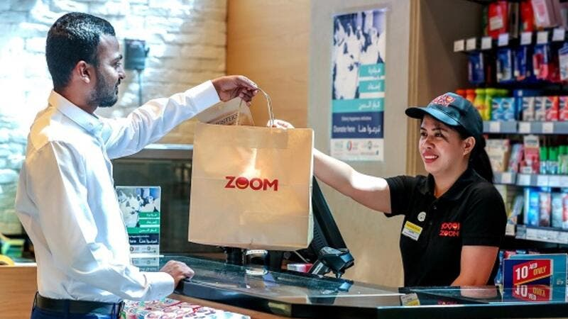 10 ZOOM stores are plastic-bag free, using paper bag alternatives to customers, with plans to eliminate using plastic bags across all stores in the near future.