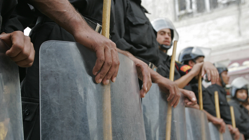 Egyptian police raided El-Edwa village on Tuesday, and arrested multiple people. (AFP/File)