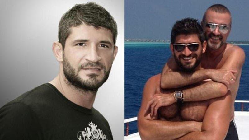 Fadi Fawaz e o ex-namorado George Michael
