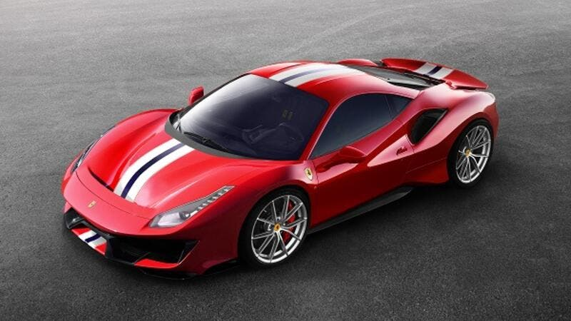 The new Ferrari 488 Pista will be unveiled at the upcoming Geneva Motor Show.
