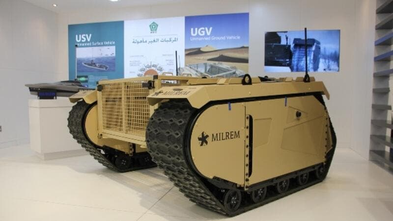 IGG Partners with Milrem to develop and arm a military UGV