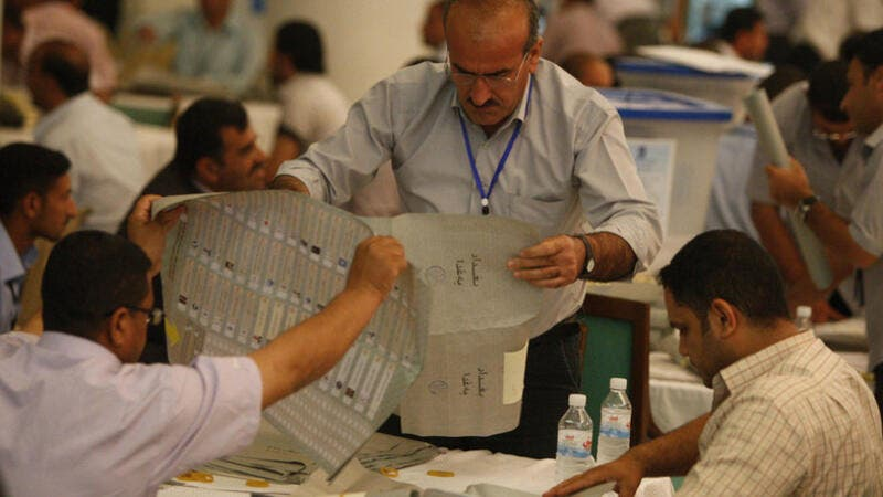 Manual recounts showed inconsistencies with the previously announced electronic counts. (AFP/ File)