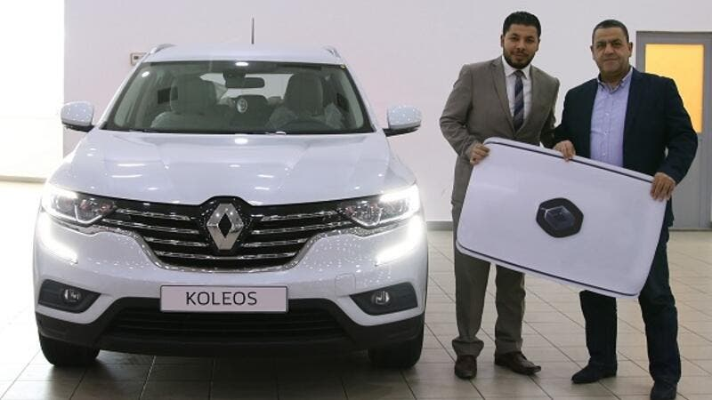 Ibrahim Dsousky was excited to receive the Renault Koleos, a powerful and refined SUV that is finely tuned with the Middle Eastern requirements.