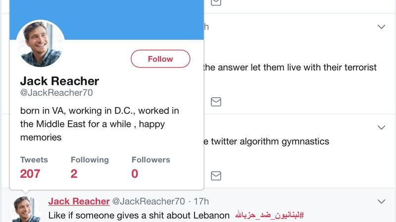 One user in particular, @jrdnrzk, has suggested that Saudi Arabia is establishing fake Twitter accounts to promote the hashtag (Twitter)