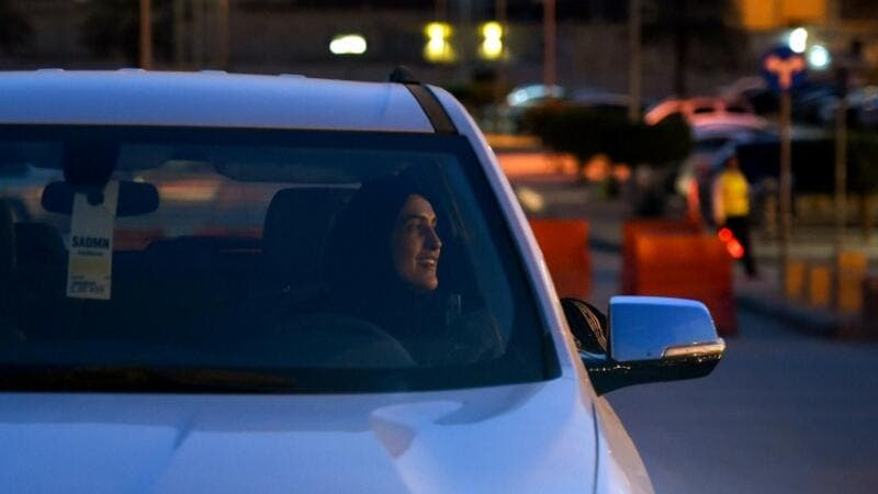 Ten Saudi women received their driving licenses for the first time preparing for June 24, when the ban lifting will start taking effect. (AFP/File Photo)