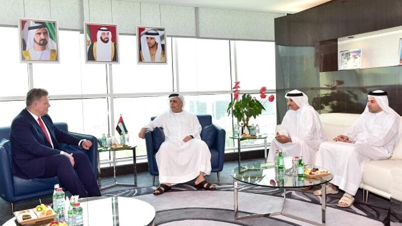 The meeting sought means of strengthening cooperation between DSC and Poland to boost the sports sector in UAE