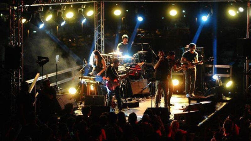 "The LGBT Lebanese rock group were scheduled to play in Jordan on Friday – but the gig was abruptly cancelled on the grounds that their songs ""contradict"" religious belief (Facebook)"