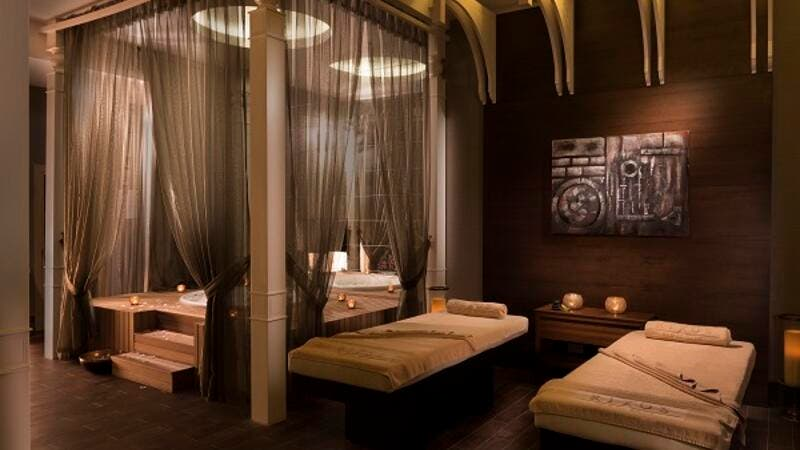Massage room at Rixos Bab Al Bahr.
