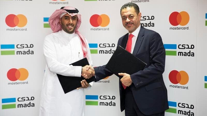 Ziad Al Yousef, General Director of Payment Systems Department at the Saudi Arabian and Khalid Elgibali, Division President, Middle East and North Africa, Mastercard