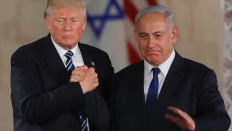 U.S. President Donald Trump (L) and Israeli Prime Minister Benjamin Netanyahu. (AFP/ File)