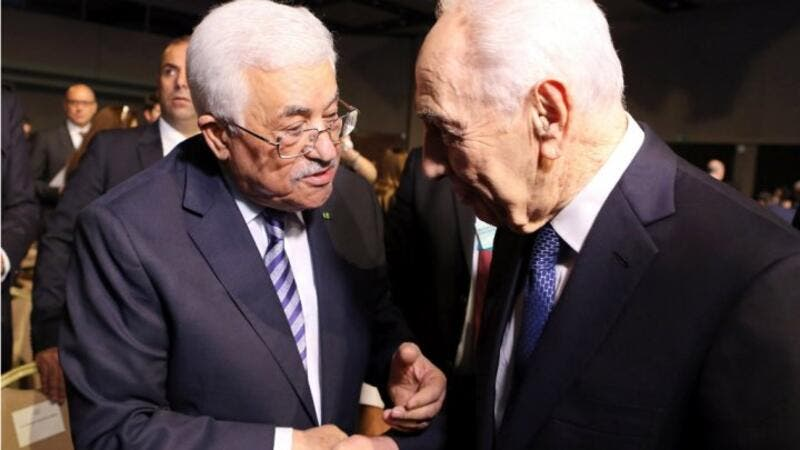 Abbas faced strong criticism for attending the funeral of Shimon Peres. (AFP/File)