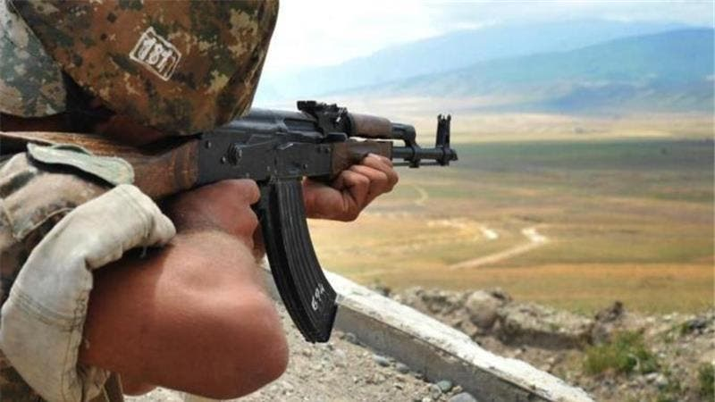 Azerbaijan's defence ministry said its troops repelled an overnight attack, forcing Armenian troops to retreat. (AFP/File)