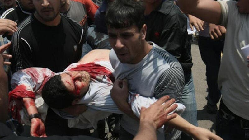 Palestinian killed