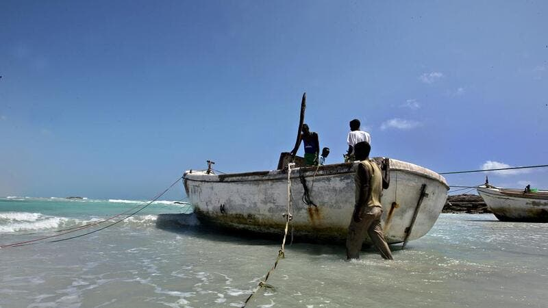 Somali pirates in the Gulf of Aden (AFP)