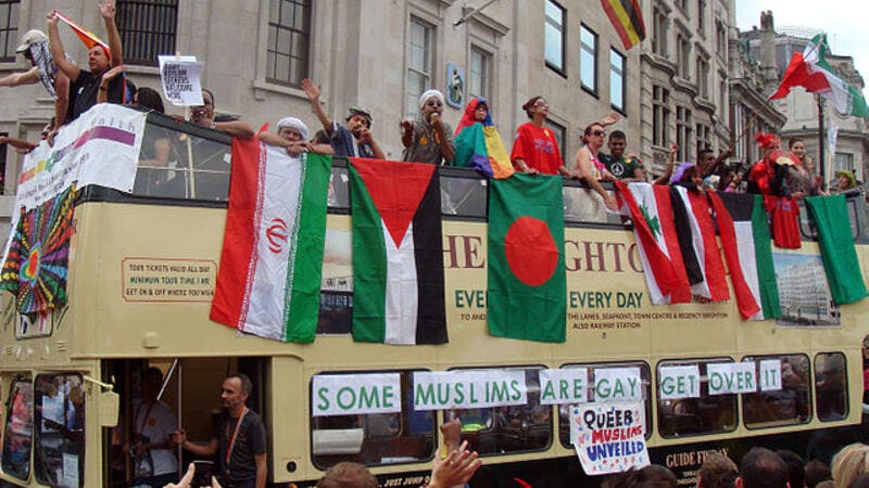 The 'Muslim bus' at London's 2011 Pride Parade (Wikimedia Commons, image used for illustrative purposes only)
