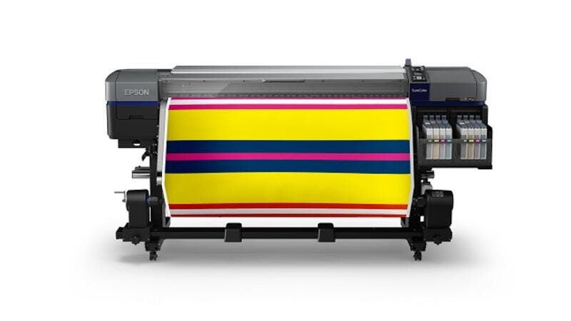 The SureColor technology allows faster printing where users can print speeds of up to 108.6m2/h.