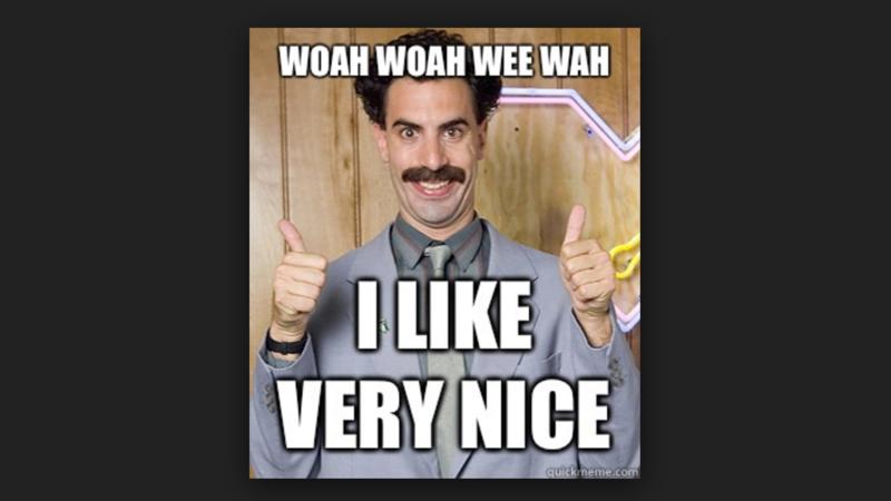 Very nice, I like! Bono wants 'Borat' to fight ISIS | Al ...