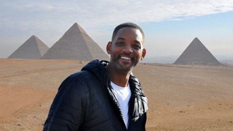 The Fresh Prince in Egypt. (File photo)